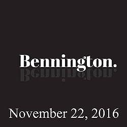 Bennington, November 22, 2016