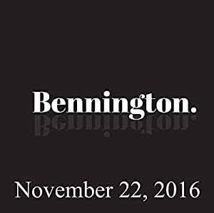 Bennington, November 22, 2016 Radio/TV Program