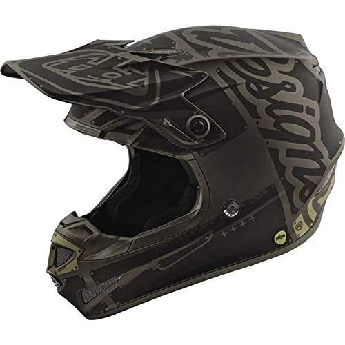 2018 Troy Lee Designs SE4 Polyacrylite Factory Helmet-Gray-M