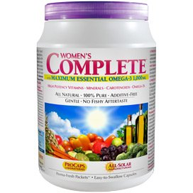 Multivitamin - Women's Complete with Maximum Essential Omega-3 1,000 mg 60 Packets (60 Women Packets)