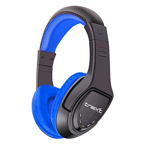 tnext Wireless Bluetooth Headset  Blue  with Mic