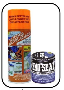 (Atsko 1336/1330 Silicone Water-Guard Water Repellent and Sno-Seal Wax (2 Pack))