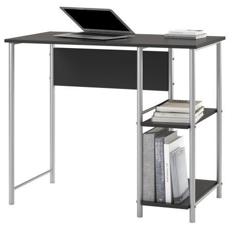 Mainstays Basic Student Desk-Black and Silver by Mainstay