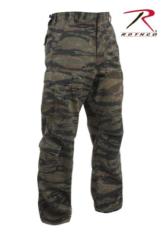 Rothco Vintage Paratrooper Fatigues, Tiger Stripe Camo, Medium