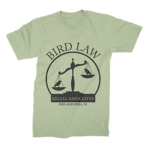 Kelly and Associates Shirt Bird Law T-Shirt Charlie Kelly Tee Always Sunny - Charlie Sunnies