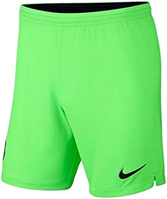 Nike 2018-2019 Barcelona Away Goalkeeper Shorts (Green): Amazon.es ...