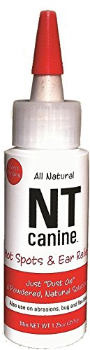 Four-Oaks Farm Ventures NT Canine Natural Solution Powder to Hot Spots, 1.25-Ounce