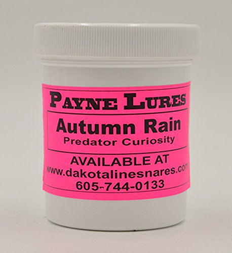 1 - 4 oz. Payne AUTUMN RAIN Predator Curiosity Lure by DakotaLine (Image #1)