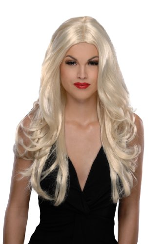 Victoria Halloween Costumes (Secret Wishes  Costume Victoria Wig, Blonde, One Size)