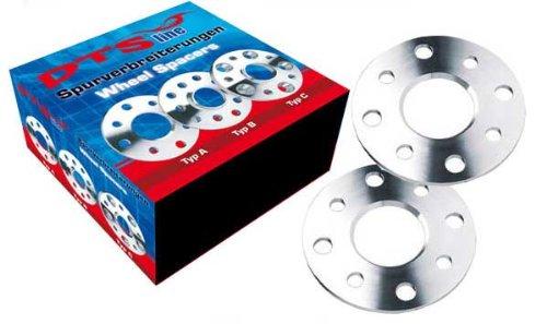 DTSline 190100360/_4250666129560 Spurverbreiterung Typ A 6mm