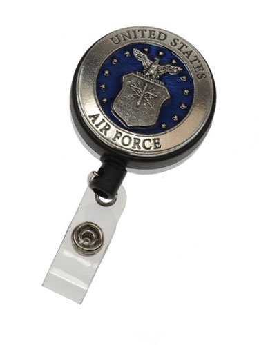Large Pewter Badge Reel - Air Force