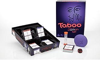 Hasbro Gaming - Juego de Mesa Tabú (285 A4626) (versión en inglés ...