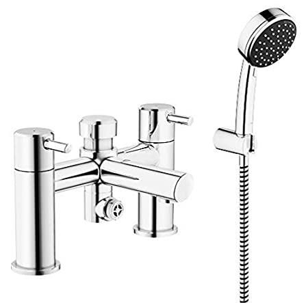 GROHE 25176000 | Feel Bath/ Shower Mixer and Shower Set - chrome ...