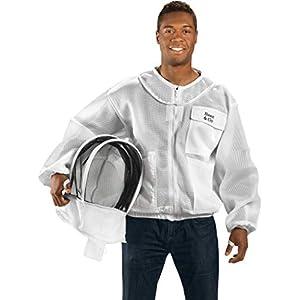 Bees & Co K84 Ultralight Beekeeper Jacket with Fencing Veil