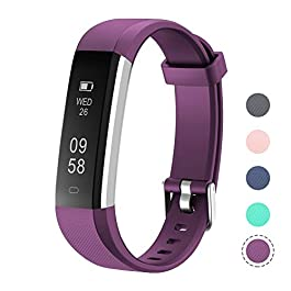 LETSCOM Fitness Tracker, Activity Tracker with Step Counter ...