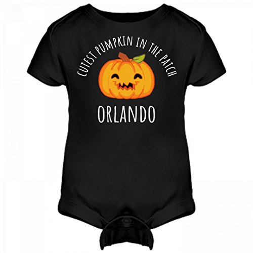 FUNNYSHIRTS.ORG Cutest Pumpkin In The Patch Orlando: Infant Rabbit Skins Lap Shoulder Creeper