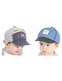 Guozyun Baby Boys Baseball Hats Sun Protection Caps for 6-36 Months Toddler Kids
