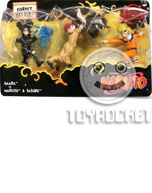 Naruto Battle Packs > Forest Battle Action Figure Multi-Pack