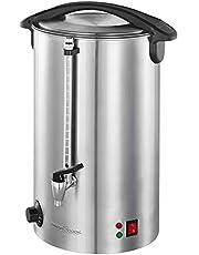 ProfiCook PC-HGA 1111 Warmte- en glühweinautomaat, roestvrijstalen behuizing, 16 L, niveau-indicator, massieve metalen tapkraan, 1500 watt, inox
