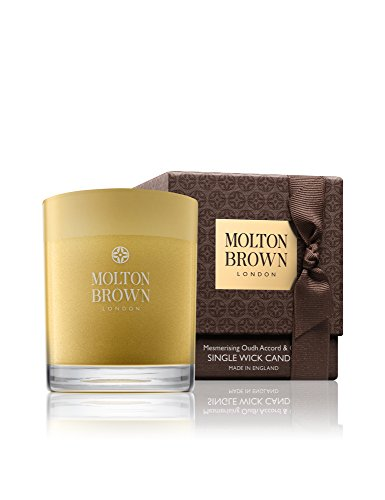 Gold Accord (Molton Brown Single Wick Candle - Mesmerizing Oudh Accord & Gold - 6.3 oz)