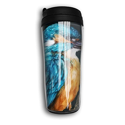 Common Kingfisher Hot Sale Double Wall Insulation Stainless Steel Coffee Thermos Cup Mug Thermal Bottle 350 Ml Carry Travel Mug Water Bottle