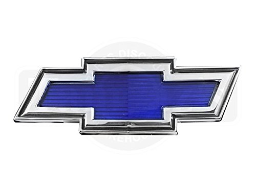 69-70 Chevrolet C/K Pick Up Pickup Truck BLUE Bowtie Bow Tie Hood Emblem Bow Tie Pickups