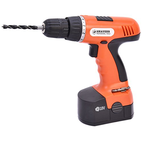 (Safstar 18V 78 Piece Cordless Electric Drill Screwdriver Wireless Power Driver Drill Household Tool)