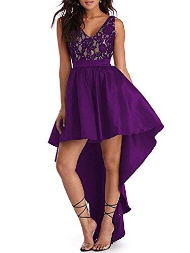 V-Neck Taffeta Wedding Dress - 8