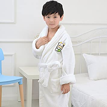 Children s Bathrobes Pajamas Kids Hooded Robe Baby Beach Bath Robe Kids  Sleepwear Boy Girls Bathrobe Teenager 0c3490900