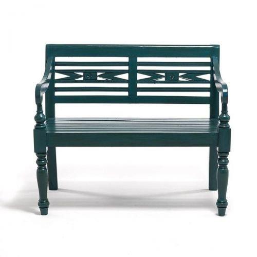 Kasandria® Outdoorbank 2-Sitzer Türkis | Gartenlounge | Garten Möbel | Outdoor Möbel