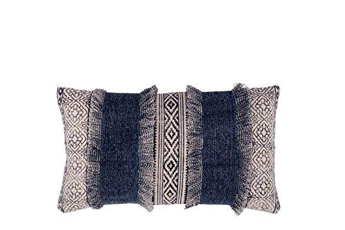 Fab Habitat Decorative Lumbar Pillow | Includes Pillow Insert | Handmade Large Accent Pillow, 14