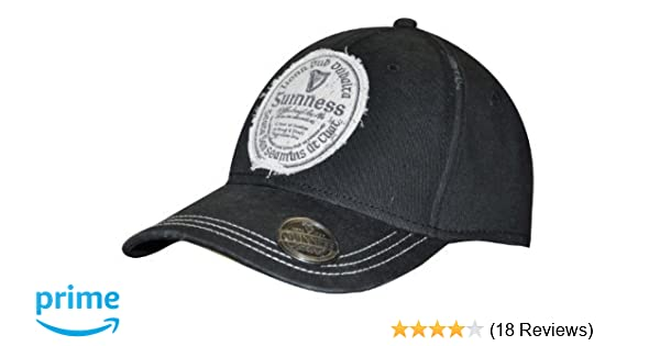 aa52decd3 Amazon.com: Guinness Distressed Gaelic Irish Label Cap - Men's ...
