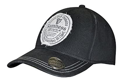 5b992fa39 Amazon.com: Guinness Distressed Gaelic Irish Label Cap - Men's ...