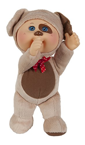 Cabbage Patch Kids Cuties Collection, Parker the Puppy Cutie Baby Doll Baby Cabbage Patch