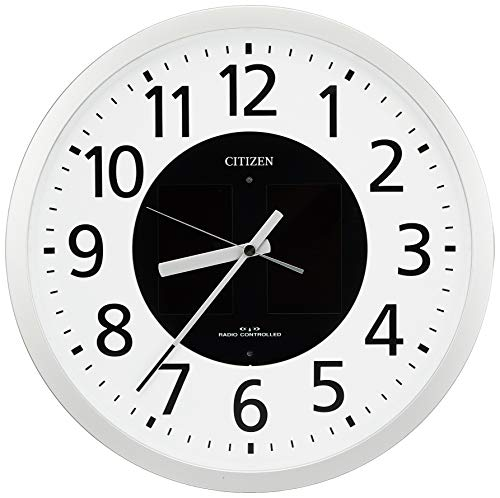 Rhythm Clock CITIZEN (Citizen) Solar radio hanging clock