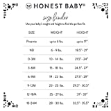 The Honest Company Baby 5-Pack Organic Cotton Long