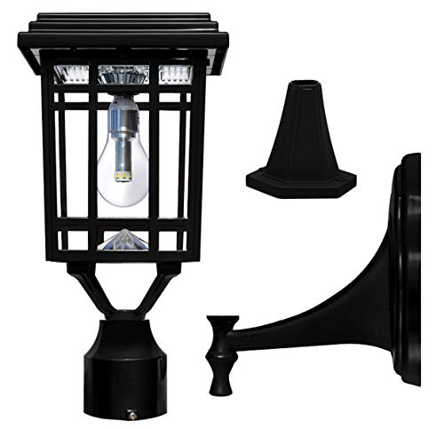 Outdoor Solar Post Top Lights in US - 8