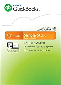 QuickBooks Online Simple Start 2016 Small Business Accounting (PC/Mac)