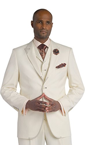 cream suit - 3