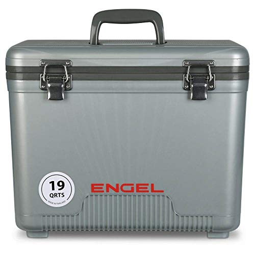 ENGEL Cooler/Dry Box 19 Qt - Silver (4wheeler Coolers)