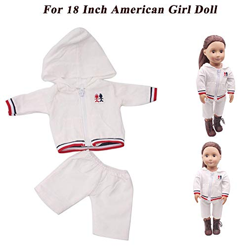 CMrtew ❤️ 18 inch Set of Doll's Clothes US Suit Summer O