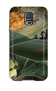 JeffreySCovey Galaxy S5 Hard Case With Fashion Design/ PzXLlmm14928aNaxZ Phone Case