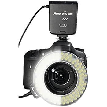 Amazon Com Neewer 48 Marco Led Ring Light With 6 Adapter