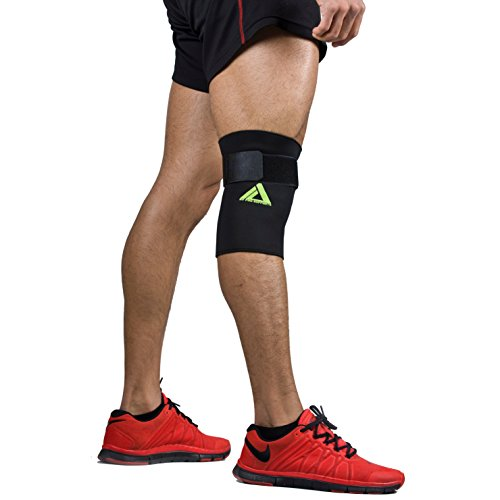 MyProSupports Athletics Knee Compression Sleeve Support for Running, Jogging, Sports, Joint Pain Relief, Arthritis and Injury Recovery-Single Wrap