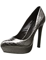 Bcbg Women's Sochi Ankle-High Fabric Pump