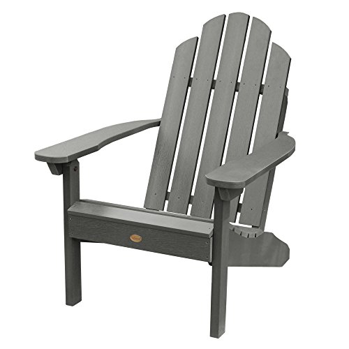 Classic Nantucket Swing - Highwood AD-CLAS1-CGE Classic Westport Adirondack Chair, 29.75W x 34.5D x 39.5H in. in, Coastal Teak