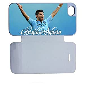 Generic With Sergio Aguero Bundle Cover Slim Back Phone Covers For Teens For Ip5 Apple Iphone Choose Design 1