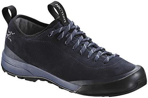Arc'teryx Acrux SL Leather Approach Shoe - Women's Black Sapphire/Ion 7