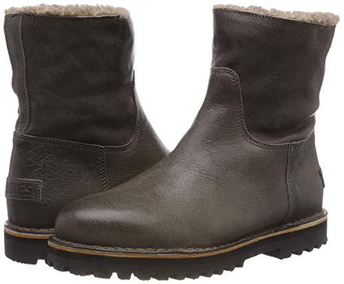 grey Grau 2057 Ankle Women''s Shs0292 Shabbies Boots fqZ7Wg