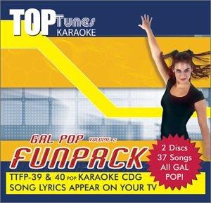 Top Tunes Karaoke CDG  Gal Pop Vol.2 Fun Pack TTFP-39&40 (Tunes Top Karaoke)